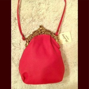 Red Antique looking small bag